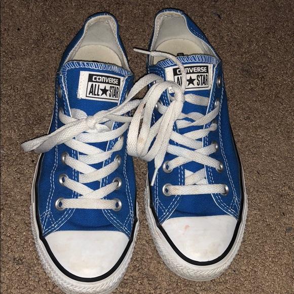 b92b85b40bad Converse Shoes - Royal blue converse sneakers
